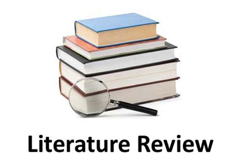 Literature review of a research proposal
